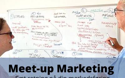 Invitation: Kom med til Meet-up marketing